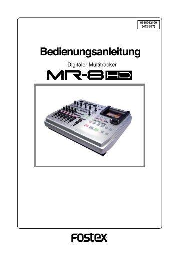 MR-8 HD (dt.) - Mega Audio