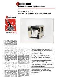 ICS-PZ 220Xi4 Industrie Etiketten-Druckstation - ICS Identcode ...