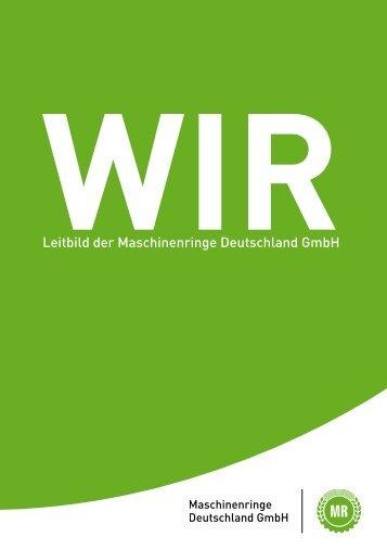 Leitbild der Maschinenringe Deutschland GmbH