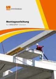 Montageanleitung für BRESPA®-Decken - DW Systembau GmbH