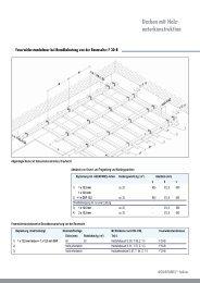 Decken mit Holz- unterkonstruktion - Knauf Perlite