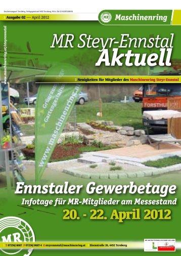 MR Steyr-Ennstal Aktuell - Maschinenring