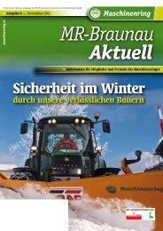 Sicherheit im Winter - Maschinenring