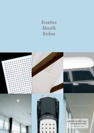 Kreative Akustik Decken - Knauf AG