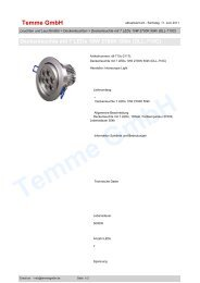 Deckenleuchte mit 7 LEDs 10W 2700K 50kh (DLL-710C)