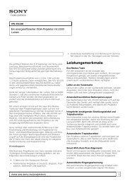 Datenblatt (de) - Beamer-Discount