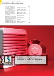 Ventilatoren Der Spitzenklasse Für Den Privat- Und ... - Helios (CH)
