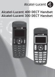 DECT 300 / 400 short