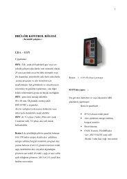 03p1 - Era Yakma ve Gözetleme Kontrol Sistemleri
