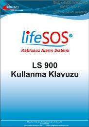 LS 900 Kullanma Klavuzu - Sistem Otomasyon