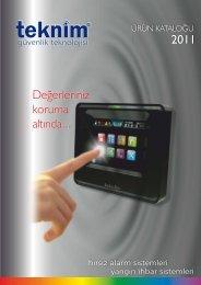 Teknim VPC 350 Keypad - BEYZA Güvenlik Sistemleri