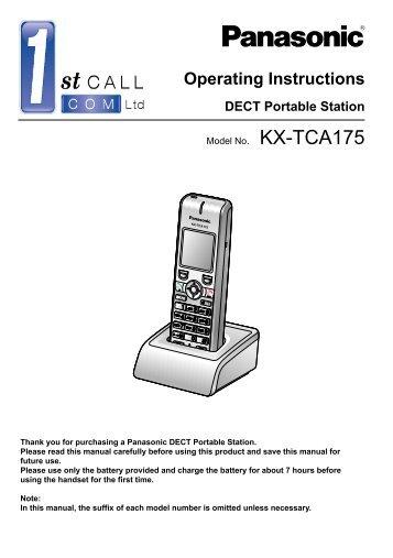 Panasonic Kx T1232 Digital Compucanjes
