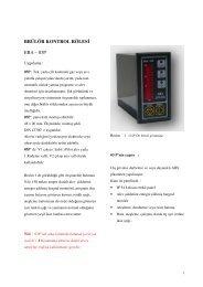 03p - Era Yakma ve Gözetleme Kontrol Sistemleri