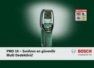 PMD 10 - Bosch Elektrikli El Aletleri