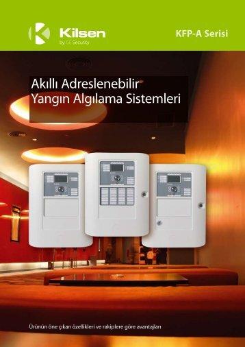 ge kılsen yangın alarm katalog - sensör güvenlik sistemleri