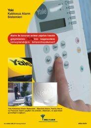 Yale Kablosuz Alarm Sistemleri