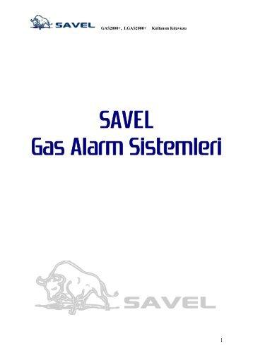 SAVEL Gas Alarm Sistemleri - Savel Akaryakıt Sistemleri