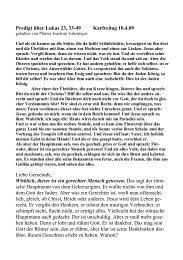 Predigt über Lukas 23, 33-49 Karfreitag 10.4.09 Liebe Gemeinde ...
