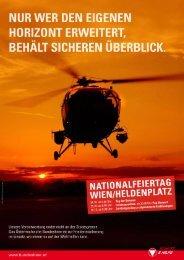 Die Broschüre zum Nationalfeiertag - Österreichs Bundesheer