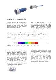 er–3b ultra v yole dedektör - Era Yakma ve Gözetleme Kontrol ...