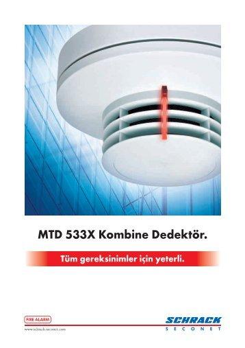 MTD 533X Kombine Dedektör.