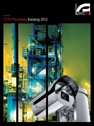 CCTV Produkte Katalog 2012 - Videotec