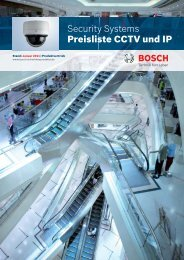 Security Systems Preisliste CCTV und IP - ViSiTec Video-Sicherheit ...