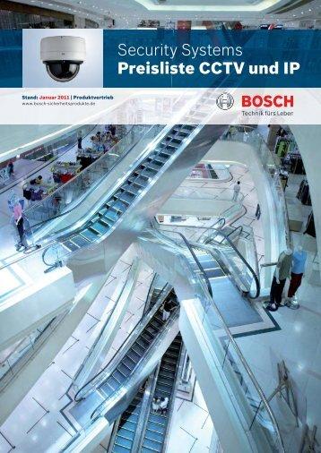 Security Systems Preisliste CCTV und IP - ViSiTec Video-Sicherheit ...