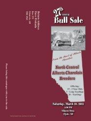 Bull Sale - Charolais Banner