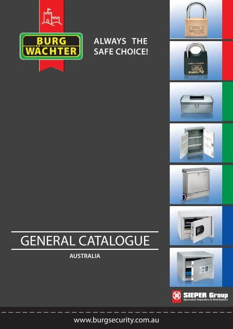 GENERAL CATALOGUE - Sieper Group