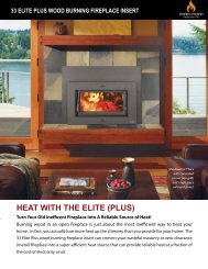 33 elite plus - Fireplace Xtrordinair