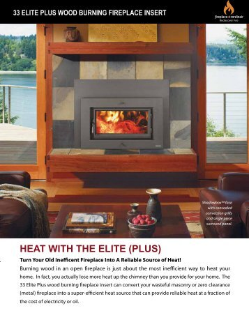 33 elite plus - Fireplace Xtrordinair
