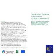 Spirituelles Wandern auf dem Jakobsweg Landeck ... - Klostertal