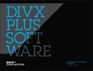 Download Divx Plus Converter For Windows User Guide