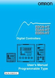 E5CN-HT E5AN-HT E5EN-HT Digital Controllers User's Manual ...