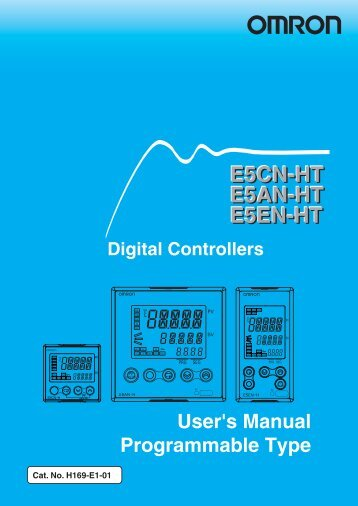 Omron Digital Controller E5cc Manual Guide