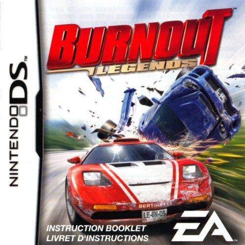 Burnout Legends - Nintendo DS - Manual - gamesdbase com