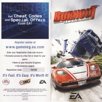 Burnout Legends - Sony PSP - Manual - gamesdbase.com
