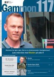 Læs interview med Buster på side 9 - Dansk Backgammon Forbund