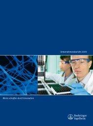 Unternehmensbericht 2009 - Boehringer Ingelheim Pharma GmbH ...