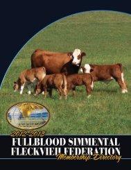 2012-2013 Membership Directory - Fullblood Simmental Fleckvieh ...