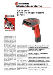 ICS-IT 3800i Scanner d'images linéaire portable - ICS Identcode ...