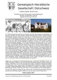 Schloss Altenklingen Rundschreiben Mai 2005 mit Kurzbeschreibung