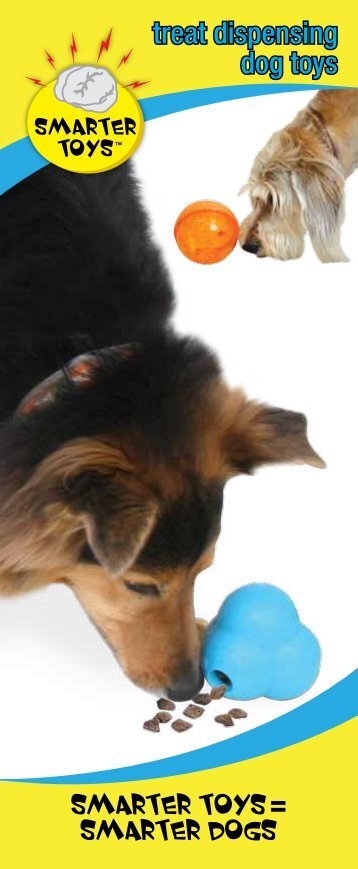 Food dispensing toys and recipes pdf center for shelter dogs treat dispensing dog toys ourpets forumfinder Images