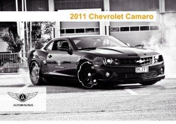 2011 Chevrolet Camaro PDF - Auto Magnus