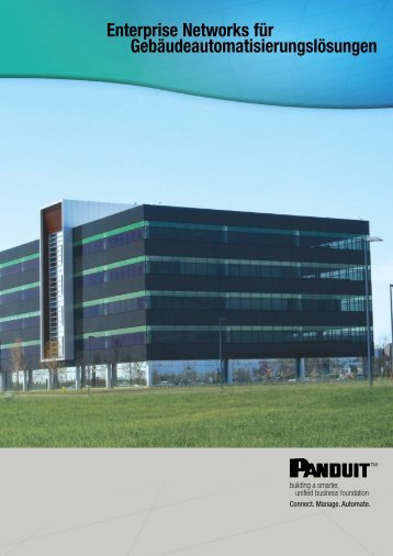 Enterprise Networks für Gebäudeautomatisierungslösungen - Panduit