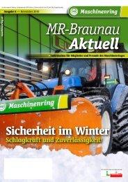 Erscheinungsort Mining, Verlagspostamt 4950 ... - Maschinenring