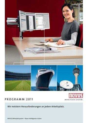 ProgrAmm 2011 - Novus-Shop