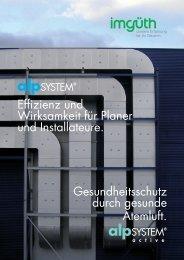 Effizienz und Wirksamkeit für Planer und Installateure - Imgrüth AG