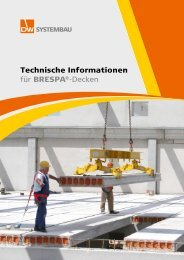 Technische Informationen für BRESPA®-Decken - DW Systembau ...
